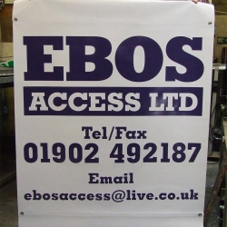 full colour scaffolding banners printed