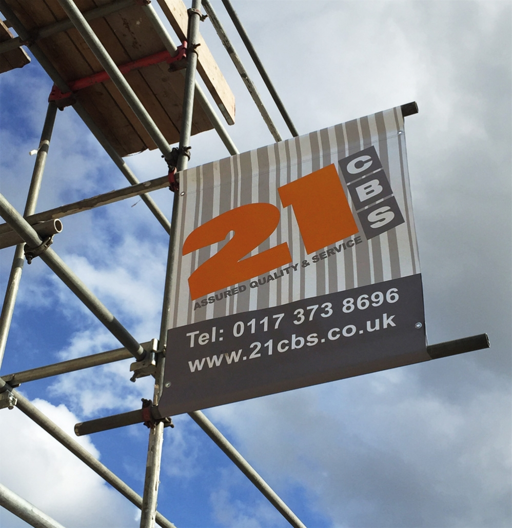 quality scaffold banners and signs