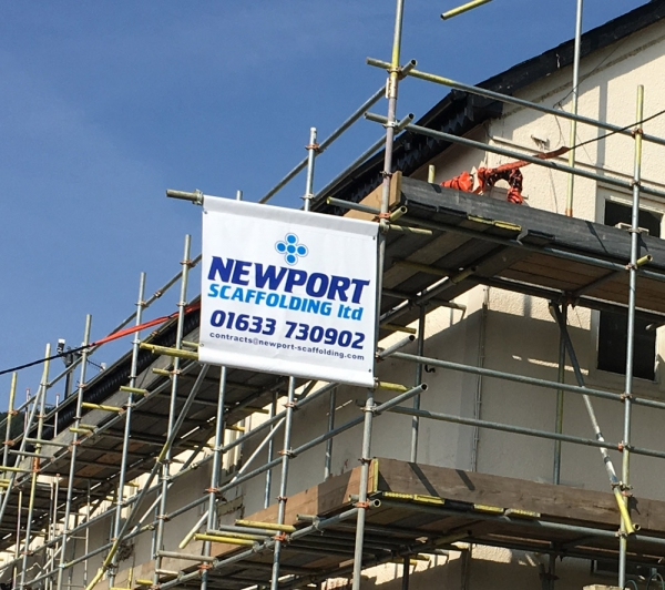 printed scaffold banners supplied