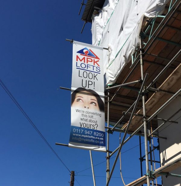 loft conversion advertising banner