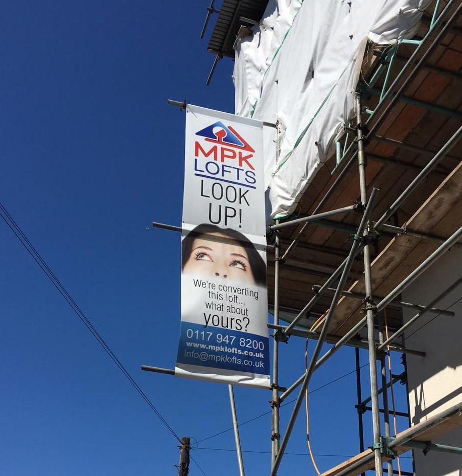 loft conversion advertising banner